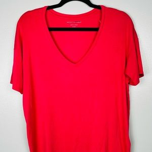 American eagle outfitters Pink oversized T-shirt.
